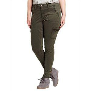 Army green Ava & Viv leggings